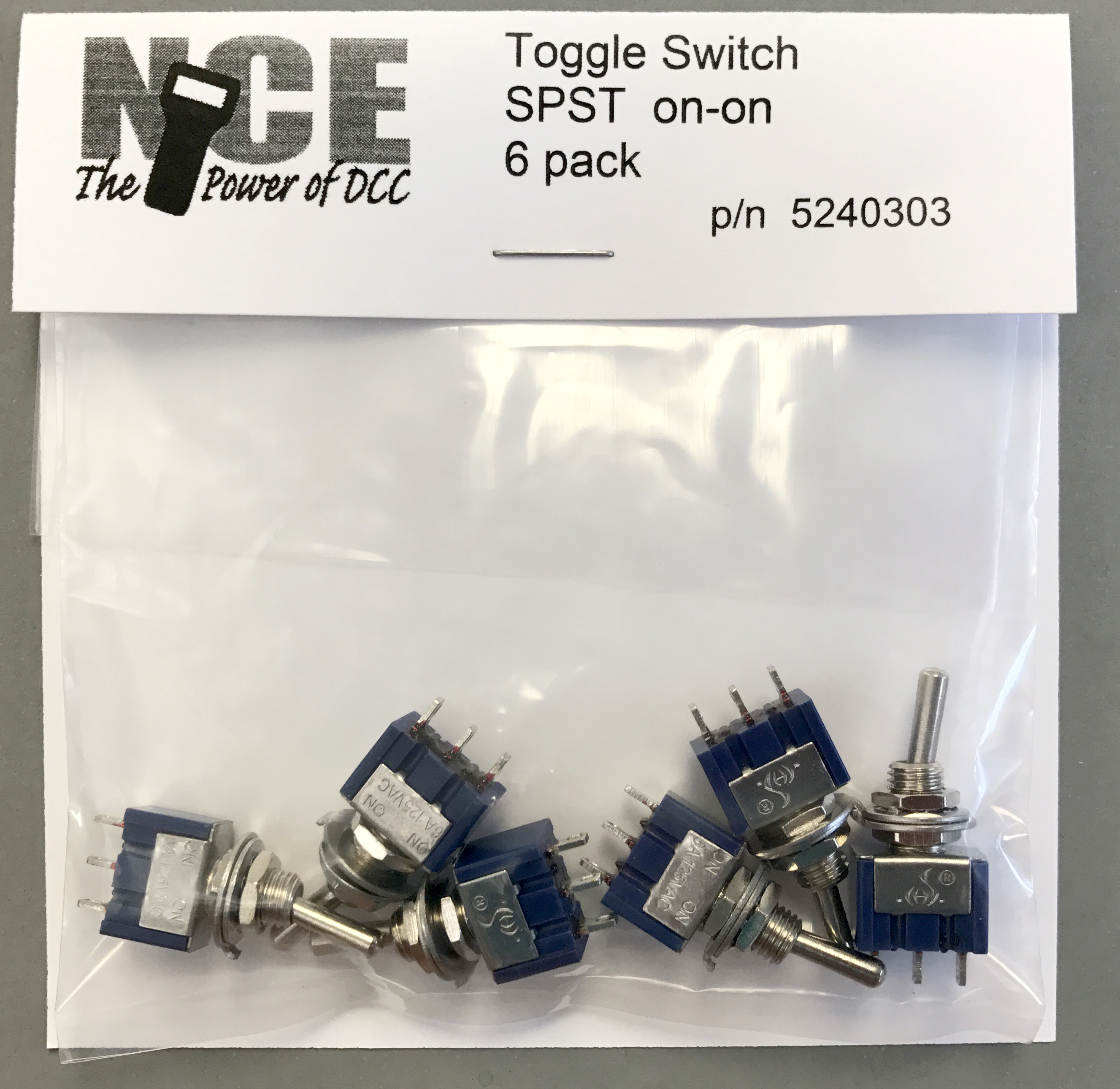 Toggle Switches Welcome To The Nce Information Station Spst 125vac Switch Wiring Diagram 5240303 6pack