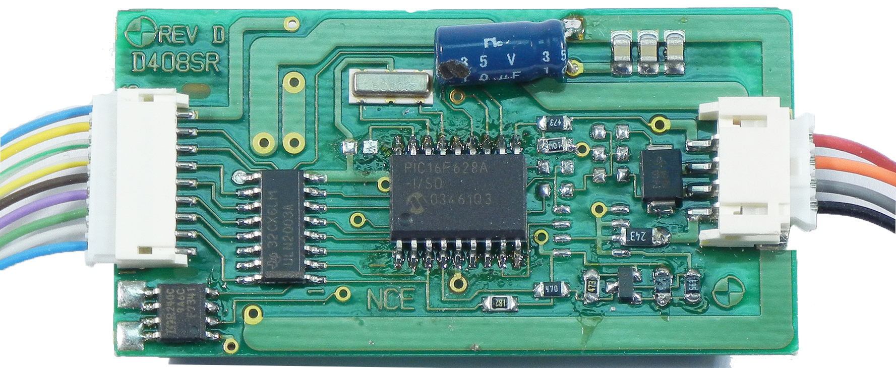 D408 – Welcome to the NCE Information Station Nce D Sr Decoder Wiring Diagrams on