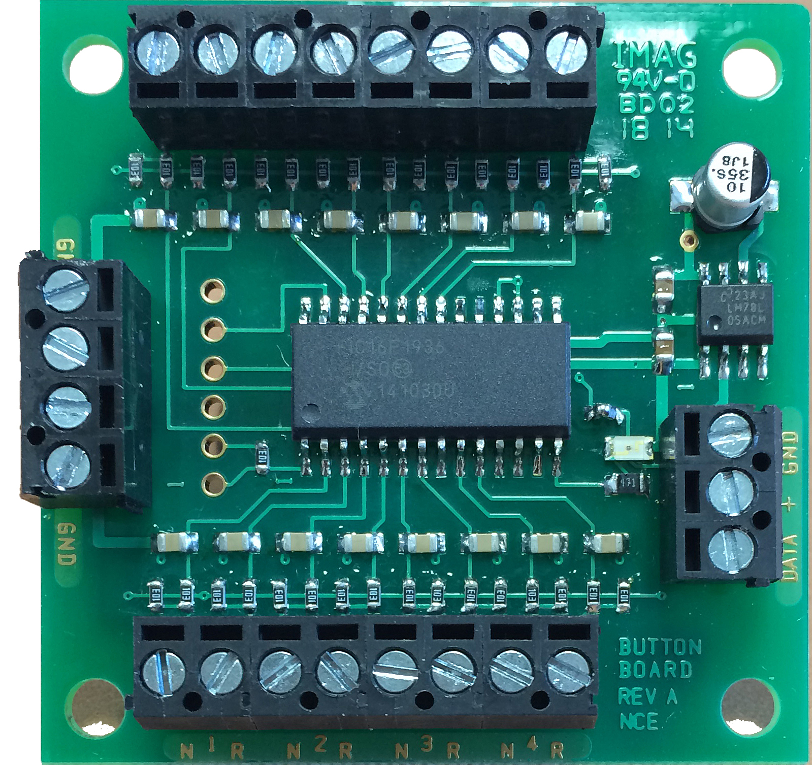 Button Board Welcome To The Nce Information Station Wiring Diagram