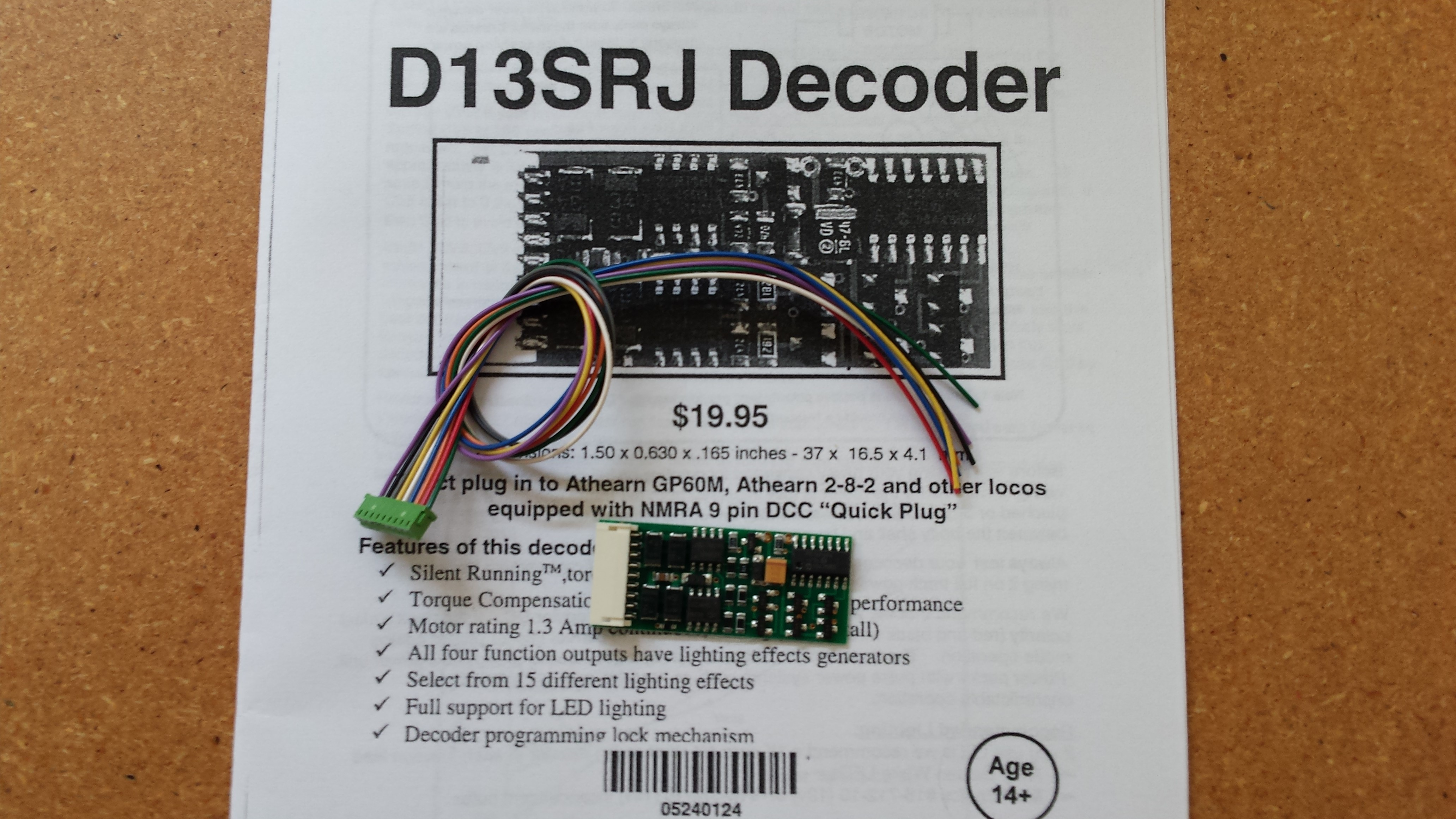 Old and Archived Mobile Decoder Manuals – Welcome to the NCE ... Nce D Sr Decoder Wiring Diagrams on