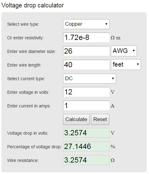 Cab bus voltage drop calculator welcome to the nce information station comments greentooth